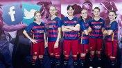 El FC Barcelona presentó Facebook y Twitter de equipo femenino