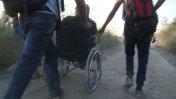 Migrar a Europa en silla de ruedas [VIDEO]