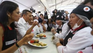 Mistura 2015: Ollanta Humala inauguró la feria gastronómica