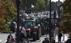 Francia: Mil tractores bloquean calles de París [VIDEO]