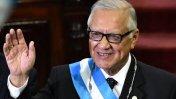 Guatemala: Ex juez Alejandro Maldonado juró como presidente