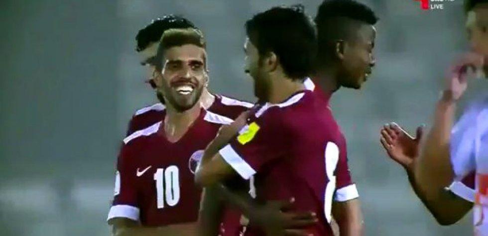 Qatar venció ¡15-0! a Bután por las Eliminatorias Rusia 2018