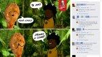 Critican a KFC por publicar caricatura racista en Facebook - Noticias de