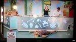 Bella actriz hizo 'split' a lo Van Damme y pasó vergüenza en TV - Noticias de