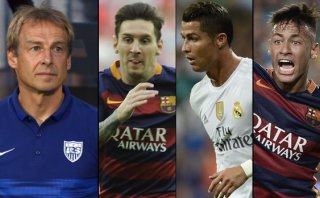¿Messi, CR7 o Neymar? La contundente respuesta de Klinsmann