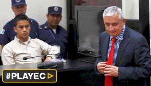 Guatemala: ordenan prisión provisional a Otto Pérez Molina