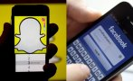 Facebook se dejó alcanzar en números de visitas por Snapchat