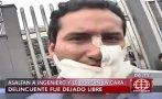 Le cortó la cara a víctima de asalto y policía lo dejó libre