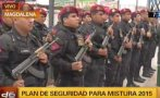 Mistura 2015: policía dispuso 200 agentes para resguardar feria