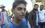 """""""Ustedes paren la guerra y no venimos más a Europa"""" [VIDEO]"""