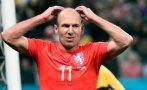 Robben se lesionó y estará un mes inactivo en Bayern Múnich