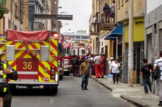Cercado de Lima: 5 heridos por derrumbe en ex cine República