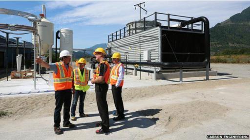 La planta de esta empresa canadiense capturará de una a dos toneladas de CO2 a diario. (Foto: CARBON ENGINEERING)