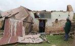 Fuertes vientos: 37 familias de Cusco resultaron afectadas