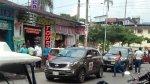 Toledistas en campaña electoral estacionan contra el tráfico - Noticias de street view