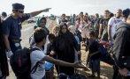 Crisis de refugiados: Hungría declara delito cruzar su frontera