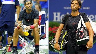 Rafael Nadal: su fracaso tras ser eliminado del US Open [FOTOS]