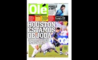 """Prensa argentina destaca """"lluvia de goles"""" ante Bolivia"""