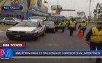 Municipalidad de Lima inició retiro de coasters de Javier Prado