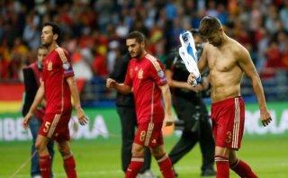 Gerard Piqué y las duras pifias de los aficionados de España