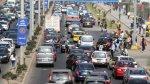 Mistura: caos vehicular ocasiona peleas entre conductores - Noticias de fotopapeletas