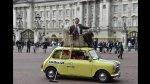 Mr. Bean recorrió monumentos de Londres al celebrar sus 25 años - Noticias de mr bean