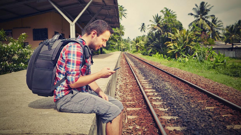 [Foto] Cinco formas de estar conectado durante tu viaje