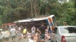 Brasil: al menos 14 muertos y 40 heridos en accidente de bus - Noticias de buses patrón
