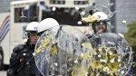 Agricultores europeos protestan con huevos y 380 tractores - Noticias de españa quemar calorías