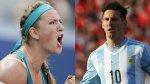 Victoria Azarenka reveló su debilidad por Lionel Messi - Noticias de victoria azarenka