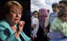 Michelle Bachelet anuncia que Chile recibirá refugiados sirios
