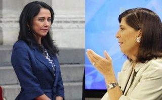Nadine Heredia y Rosa María Palacios: 2 versiones sobre agendas