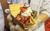 Un waffle alborota el barrio dulce de Mistura