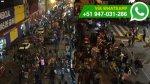 WhatsApp: ambulantes informales se apoderan de un carril - Noticias de jiron andahuaylas