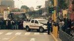 Metropolitano: camioneta de Pro Transporte y auto chocaron - Noticias de marino farias