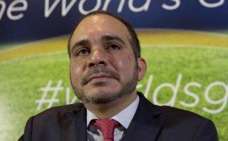 El príncipe Ali, un militar que quiere poner orden en la FIFA