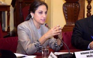 """Rosana Cueva: """"Hubo hostilidad en la Comisión de Fiscalización"""""""
