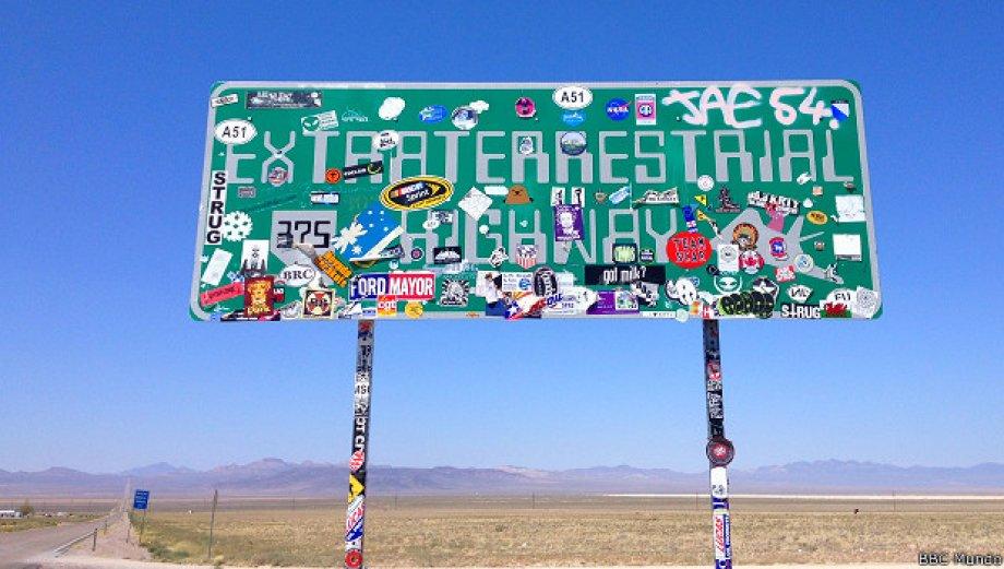 """Área 51: recorra """"La Carretera de los Extraterrestres"""""""