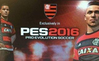 Paolo Guerrero en portada del PES 2016 exclusivo para Flamengo