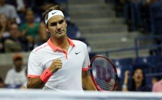 Federer avanzó a semifinales del US Open: venció 3-0 a Gasquet