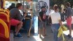 Facebook: Diego Lugano muestra su humildad viajando en bus - Noticias de olimpia