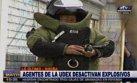 Breña: policía incautó 51 granadas escondidas en local [VIDEO]