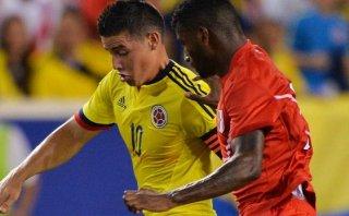 James Rodríguez tiene una rotura muscular ¿jugará contra Perú?