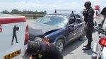 Chimbote: detienen a balazos a banda que asaltó bus - Noticias de carlos bernuy