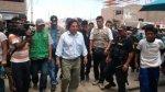 Casma: lanzan tomates a ex presidente Alejandro Toledo - Noticias de casma