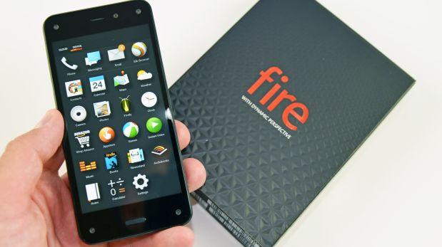 Una cámara dinámica y una aplicación para identificar productos eran parte de la apuesta del Fire Phone.(Foto: Captura de pantalla)
