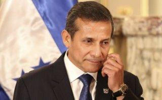Ollanta Humala: aprobación de la labor presidencial cae a 18%