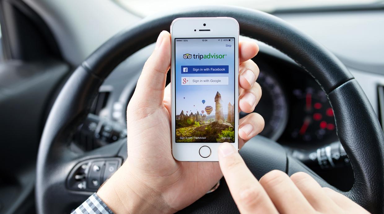 Casi un 50% de sus usuarios entra a través del celular según TripAdvisor. (Foto: Shutterstock)