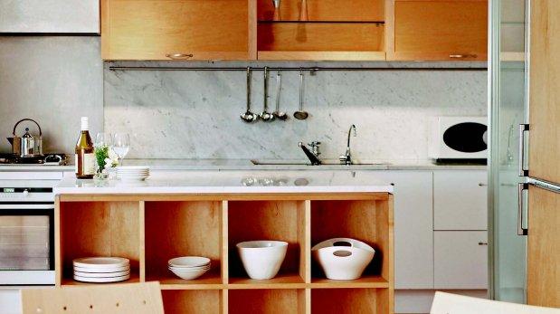 6 consejos para no desperdiciar ni un cent metro de la for Reposteros para cocina pequena