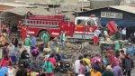 Chimbote: incendio arrasó con más de 250 puestos de mercado - Noticias de nuevo chimbote